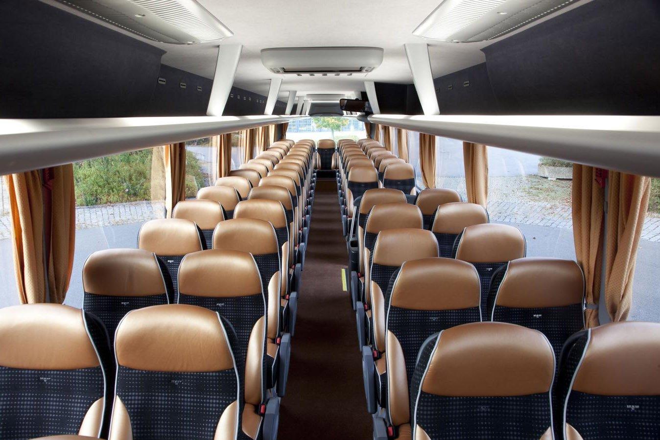 этом фото экскурсионных автобусов внутри можете